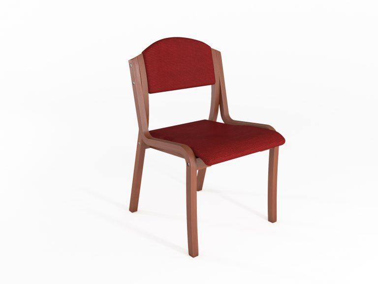 סדרת מורשת - כיסא נערם דגם 5500 ללא ידית