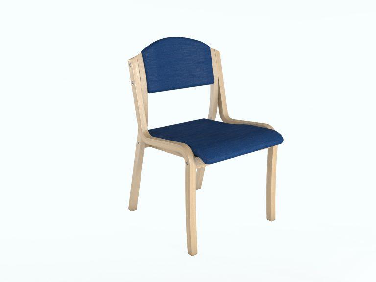 כיסא נערם דגם 5500 ללא ידית