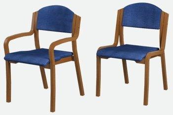 כסאות נערמים - לביא ריהוט לבתי כנסת